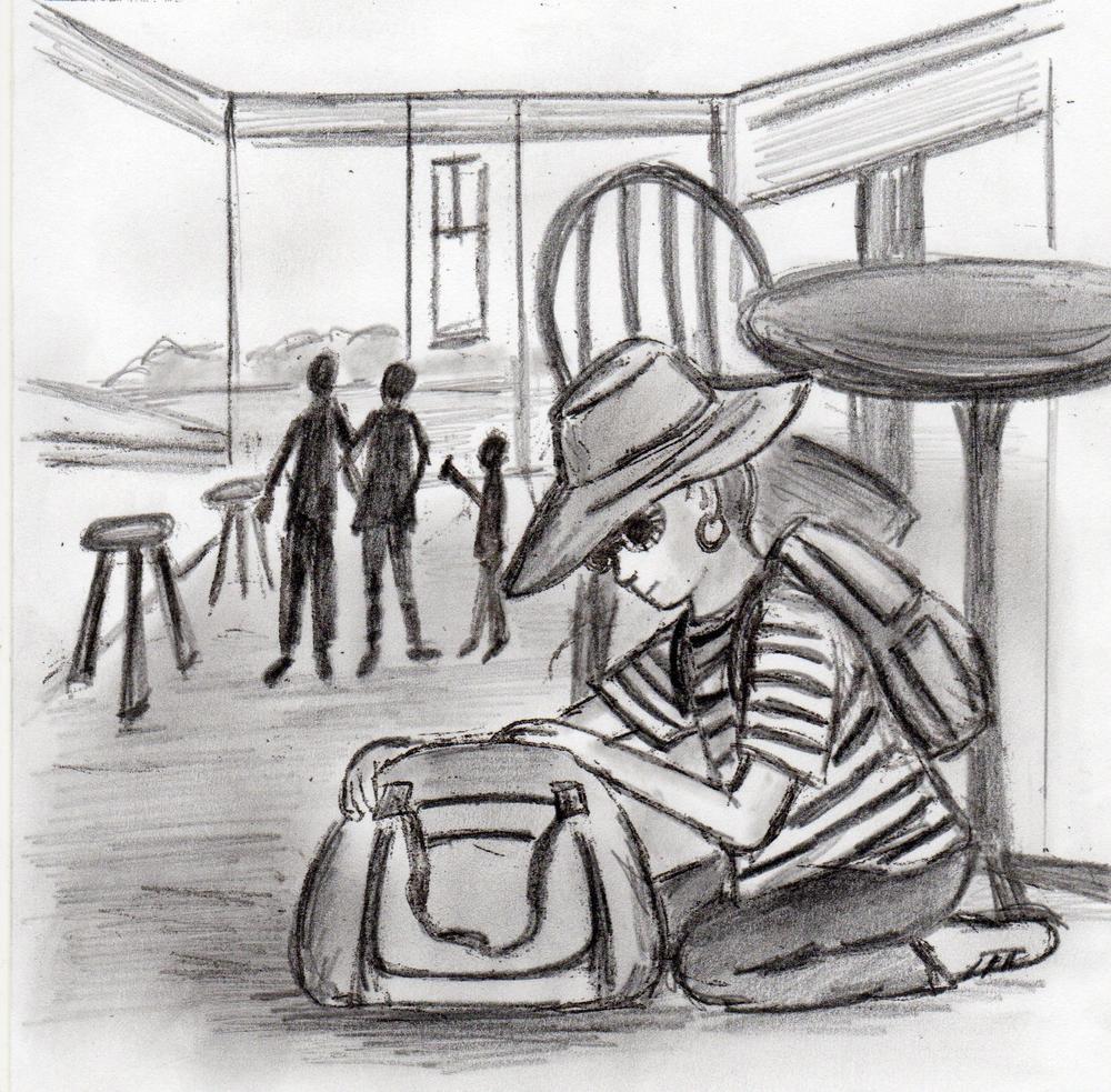final 12 - restaurant scene